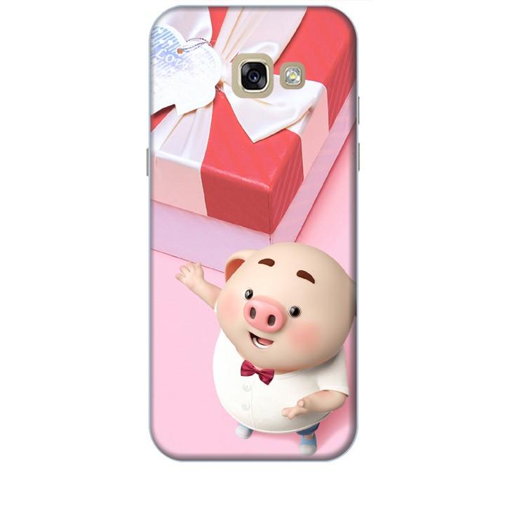 Ốp lưng dành cho điện thoại  SAMSUNG GALAXY A5 2017 Heo Con Đòi Quà