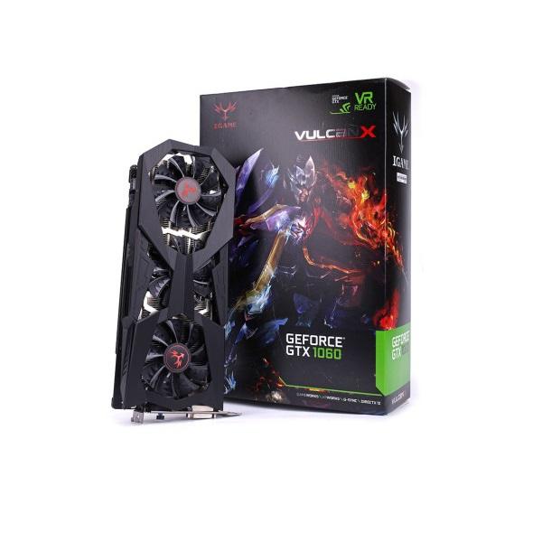 Card Màn Hình Colorful IGame GTX 1060 Vulcan XOC 6G