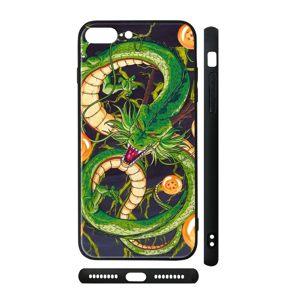 Ốp kính cho iPhone in hình Dragon Ball - 7vnr003 (có đủ mã máy)