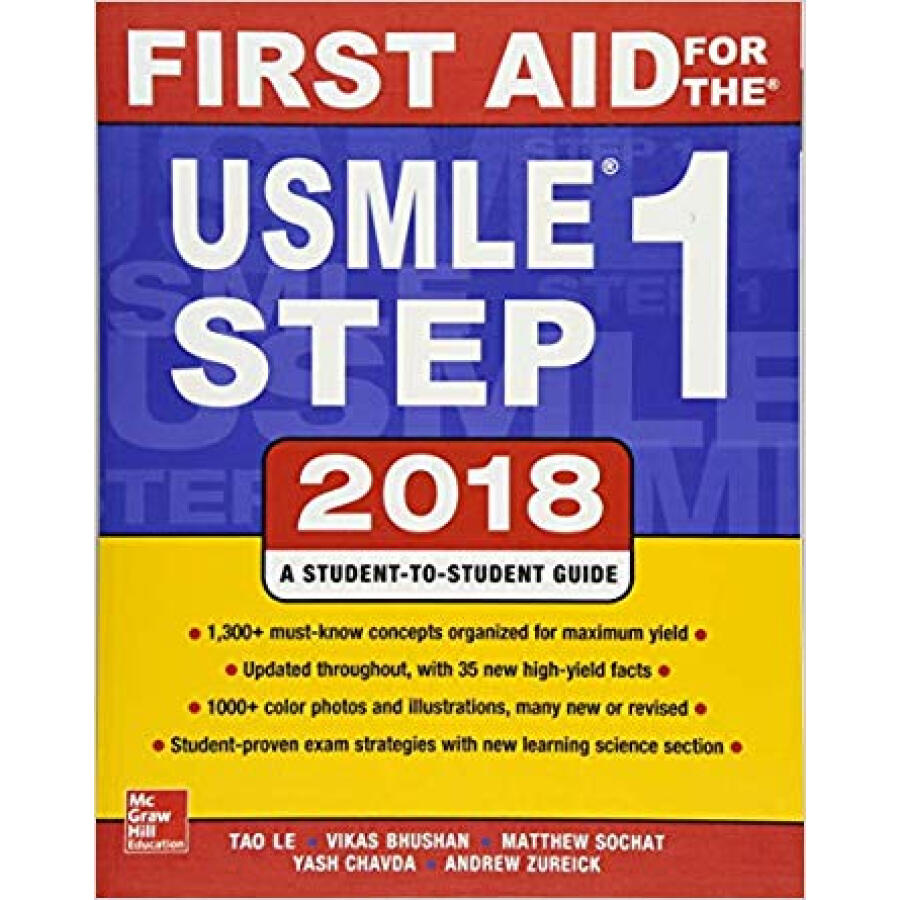 First Aid for the USMLE Step 1 2018 28th Edition - 1236735 , 8843434068657 , 62_5267575 , 1387000 , First-Aid-for-the-USMLE-Step-1-2018-28th-Edition-62_5267575 , tiki.vn , First Aid for the USMLE Step 1 2018 28th Edition