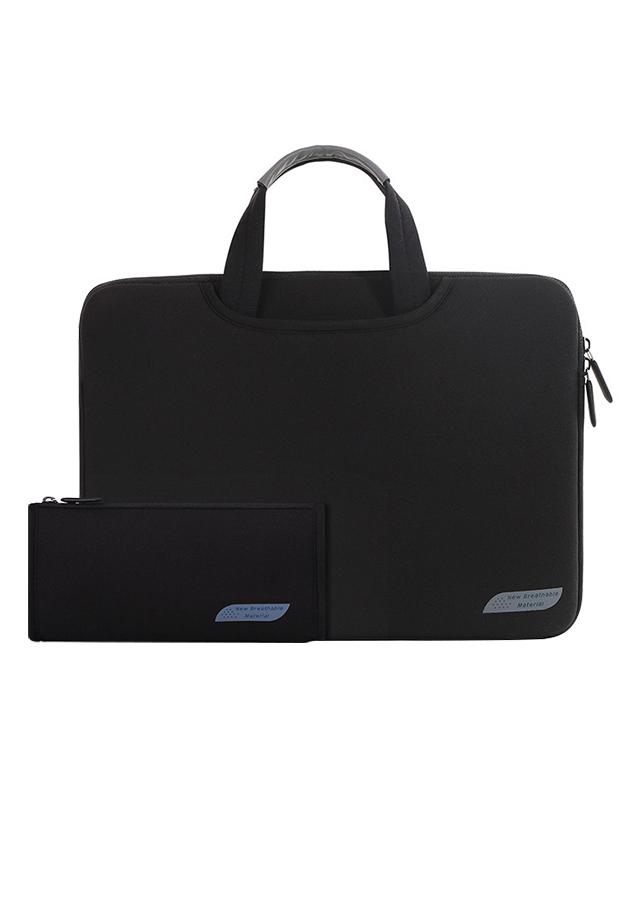 """Combo Túi Laptop Đeo Vai 13.3"""" Và Túi Phụ Kiện Cartinoe Sleeves Breath Simplicity  MIVIDA(1092+1122) - Đen - 890936 , 1085791016255 , 62_1549043 , 350000 , Combo-Tui-Laptop-Deo-Vai-13.3-Va-Tui-Phu-Kien-Cartinoe-Sleeves-Breath-Simplicity-MIVIDA10921122-Den-62_1549043 , tiki.vn , Combo Túi Laptop Đeo Vai 13.3"""" Và Túi Phụ Kiện Cartinoe Sleeves Breath Simplicity  MI"""