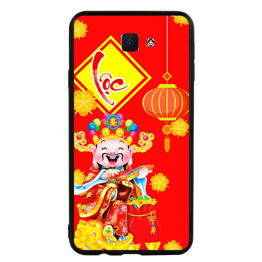 Ốp lưng nhựa cứng viền dẻo TPU cho điện thoại Samsung Galaxy J7 Prime - Thần Tài 04