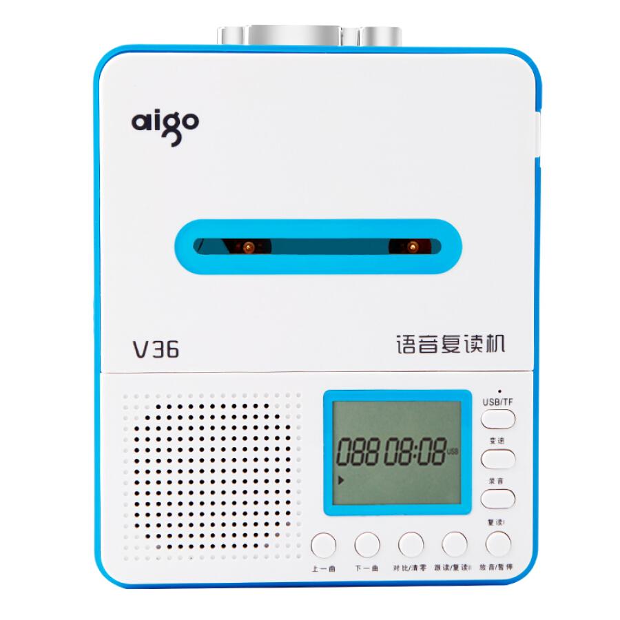 Máy Nghe Nhạc Và Học Ngoại Ngữ Bằng Phone Băng Cassette Có Chức Năng Ghi Âm Aigo V28/V36 - 1003599 , 6208041159785 , 62_5674629 , 644000 , May-Nghe-Nhac-Va-Hoc-Ngoai-Ngu-Bang-Phone-Bang-Cassette-Co-Chuc-Nang-Ghi-Am-Aigo-V28-V36-62_5674629 , tiki.vn , Máy Nghe Nhạc Và Học Ngoại Ngữ Bằng Phone Băng Cassette Có Chức Năng Ghi Âm Aigo V28/V36