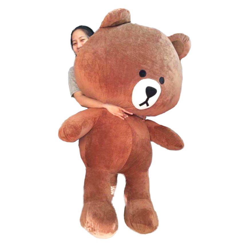 Gấu Bông Brown 1m7 khổ vải cao 1m5 dễ thương