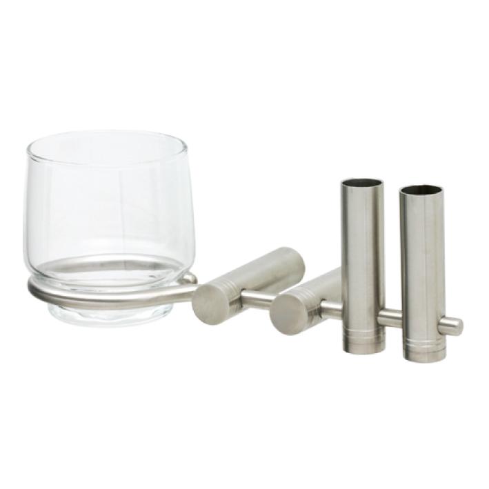 Giá để ly và bàn chải đánh răng INOX SUS 304 ZS-5009