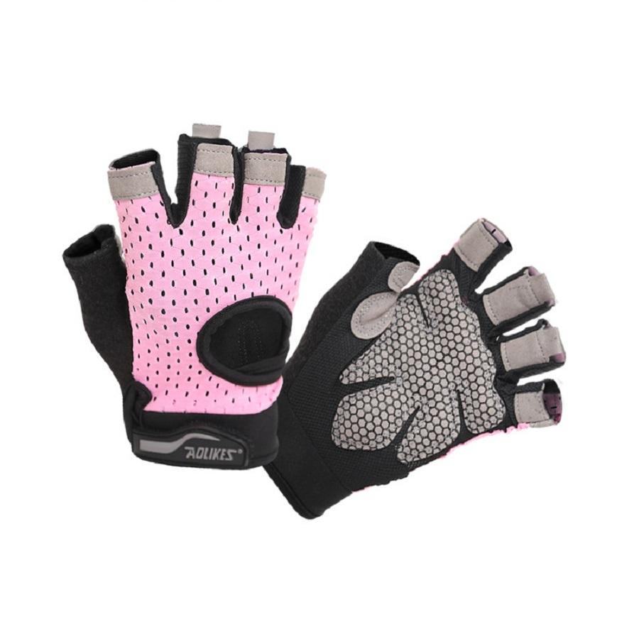 Găng tay tập gym nữ có quấn bảo vệ cổ tay AOLIKES - 9543872 , 9000702780751 , 62_10670789 , 299000 , Gang-tay-tap-gym-nu-co-quan-bao-ve-co-tay-AOLIKES-62_10670789 , tiki.vn , Găng tay tập gym nữ có quấn bảo vệ cổ tay AOLIKES
