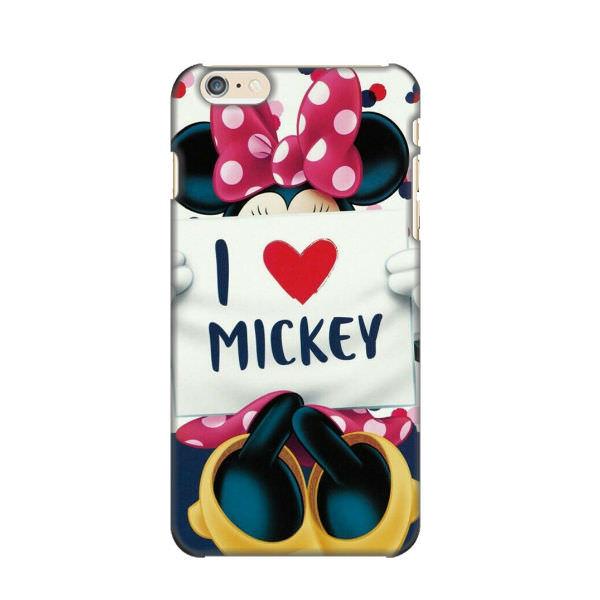 Ốp Lưng Dành Cho Điện Thoại iPhone 6 Plus - I Love Mickey