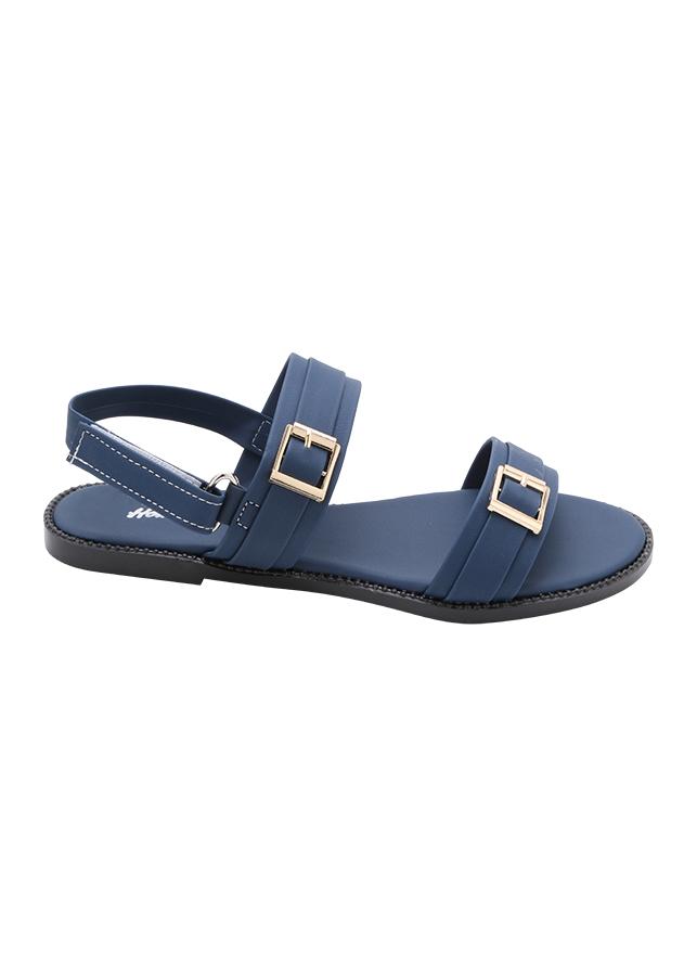 Giày Sandal Nữ Đế Bệt CN 001 - Xanh Đen