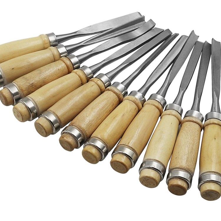 Bộ 12 dụng cụ đục gỗ mỹ nghệ cao cấp HT29212