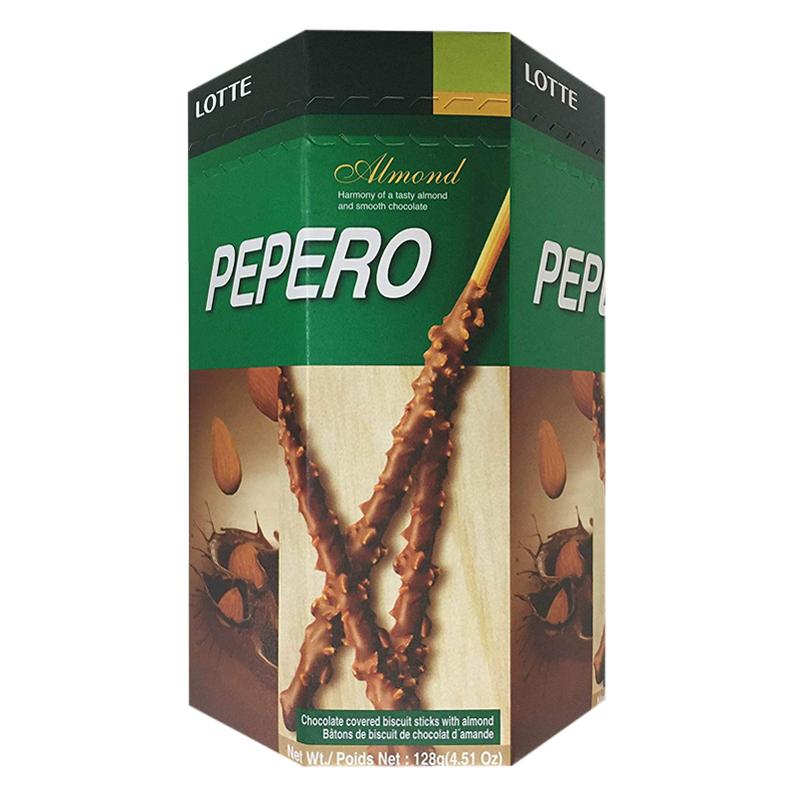 Hộp Bánh Que Pepepro hạnh nhân 128g - 1469614 , 8778218441121 , 62_14599231 , 76000 , Hop-Banh-Que-Pepepro-hanh-nhan-128g-62_14599231 , tiki.vn , Hộp Bánh Que Pepepro hạnh nhân 128g