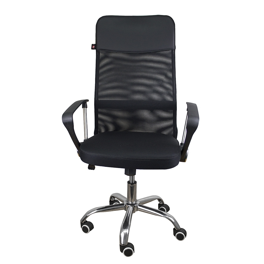 Ghế văn phòng chân xoay BG Mẫu D1 (Black)