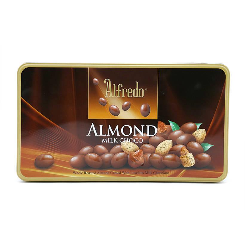 Kẹo Socola Almond Alfredo - Nâu (300g/Hộp)