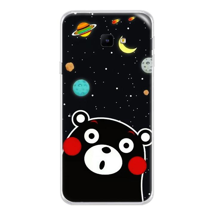 Ốp lưng dẻo cho Samsung Galaxy J4 Core_0345 BEAR03 - Hàng Chính Hãng