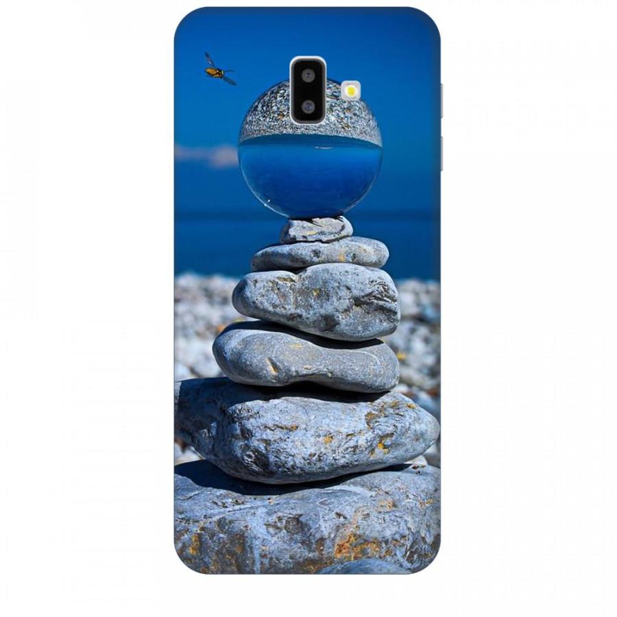 Ốp lưng dành cho điện thoại  SAMSUNG GALAXY J6 PLUS Đá Ngủ Sắc