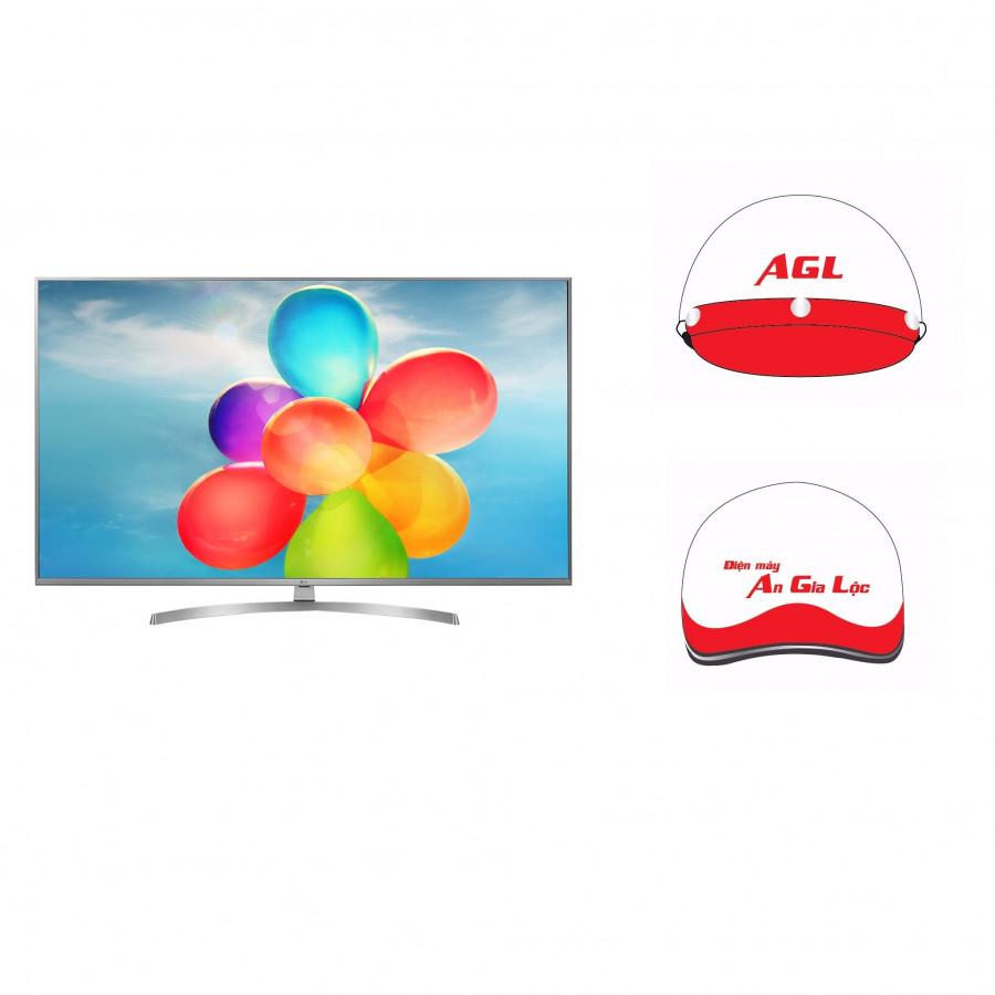 Smart Tivi LG 49 inch 4K UHD 49UK7500PTA - Hàng Chính Hãng + Tặng Kèm Mũ Bảo Hiểm An Gia Lộc - 4846228 , 8763520708550 , 62_16049022 , 28990000 , Smart-Tivi-LG-49-inch-4K-UHD-49UK7500PTA-Hang-Chinh-Hang-Tang-Kem-Mu-Bao-Hiem-An-Gia-Loc-62_16049022 , tiki.vn , Smart Tivi LG 49 inch 4K UHD 49UK7500PTA - Hàng Chính Hãng + Tặng Kèm Mũ Bảo Hiểm An G