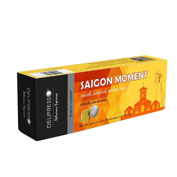 Cà phê Delipresso Sài Gòn Moment 10 viên x 6g - Phương Vy