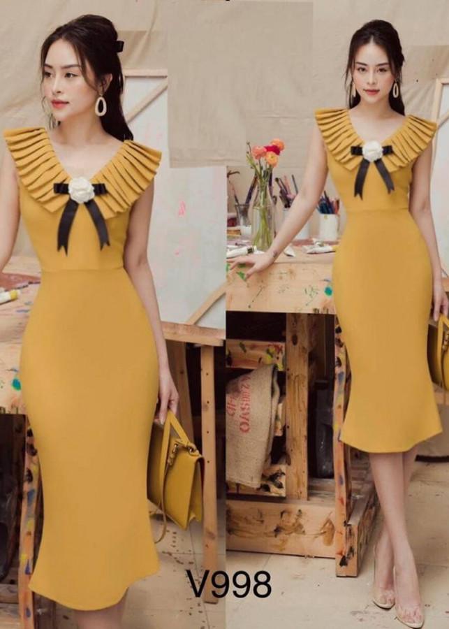 Đầm body thiết kế cao cấp theo xu hướng mới nhất cổ chữ V thương hiệu H2 Fashion - 2183162 , 3597927517478 , 62_14012844 , 530000 , Dam-body-thiet-ke-cao-cap-theo-xu-huong-moi-nhat-co-chu-V-thuong-hieu-H2-Fashion-62_14012844 , tiki.vn , Đầm body thiết kế cao cấp theo xu hướng mới nhất cổ chữ V thương hiệu H2 Fashion