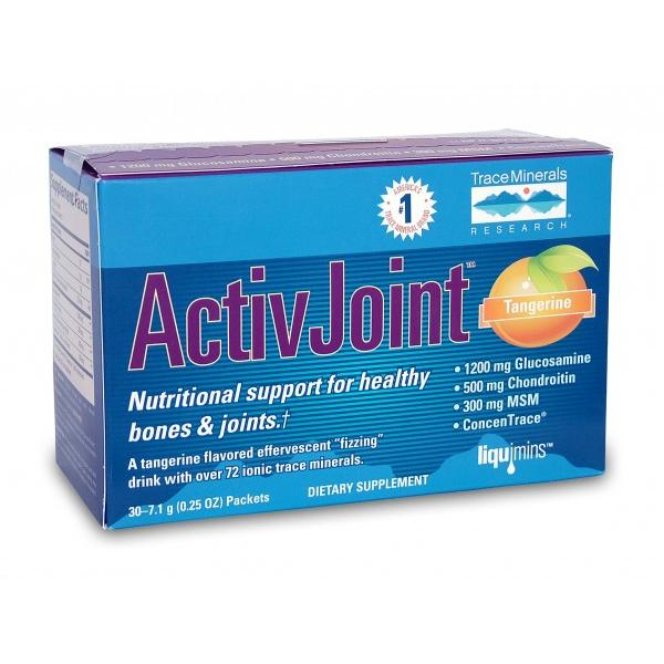 Thực Phẩm Chức Năng Bổ Trợ Xương Khớp ActivJoint (Glucosamine) Dạng Bột Sủi (7.1 g/ gói - 15 gói/ Hộp)