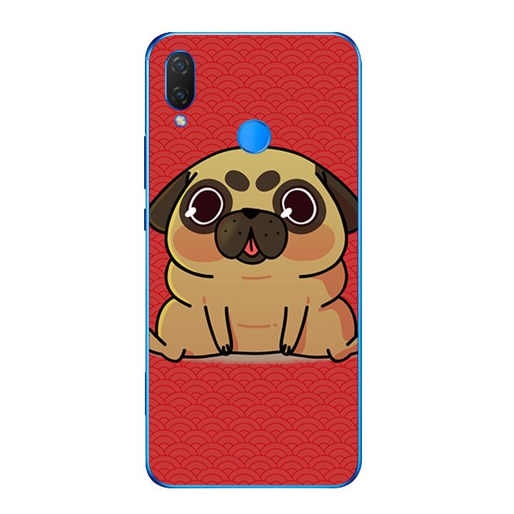 Ốp lưng dẻo cho điện thoại Huawei Y9 2019 - Cute Dog 02