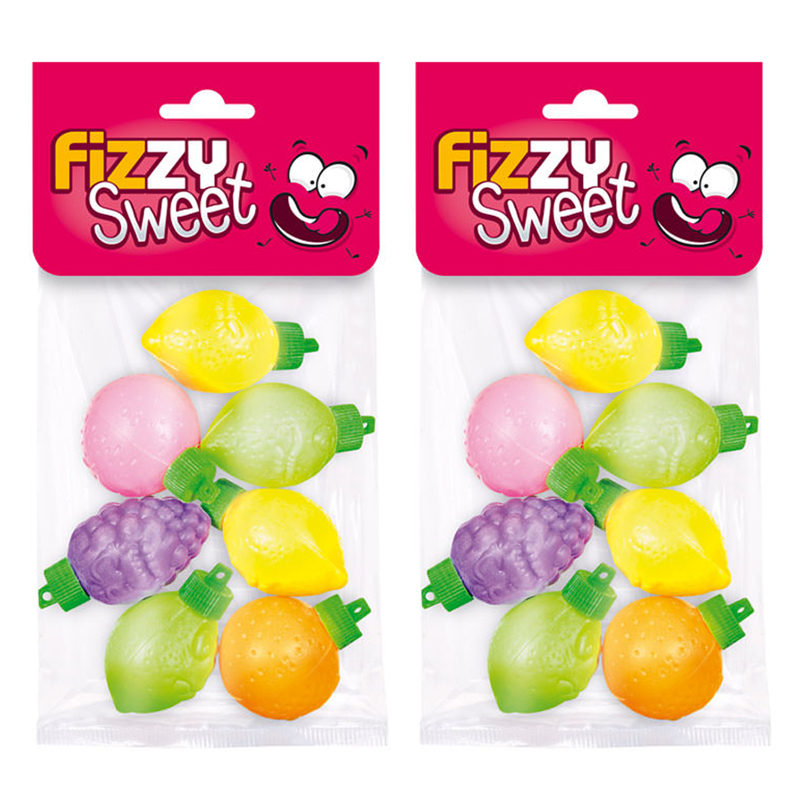 Combo 2 Gói Bột Trái Cây Fizzy Fresh Up - Hàng Nhập Khâu Pháp