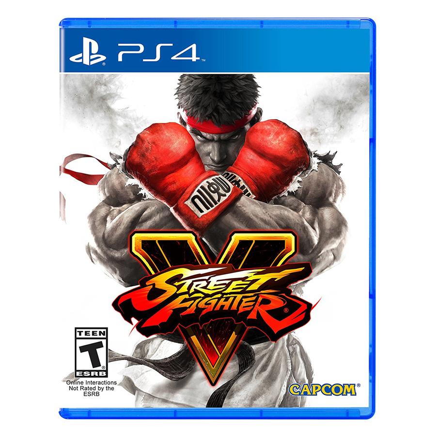 Đĩa Game PlayStation PS4 Sony Street Fighter V Hệ US - Hàng Chính Hãng
