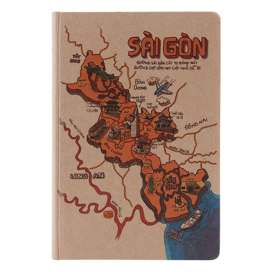 Sổ Tay Phố Thị Du Ký (S) - Sài Gòn (100 Trang)
