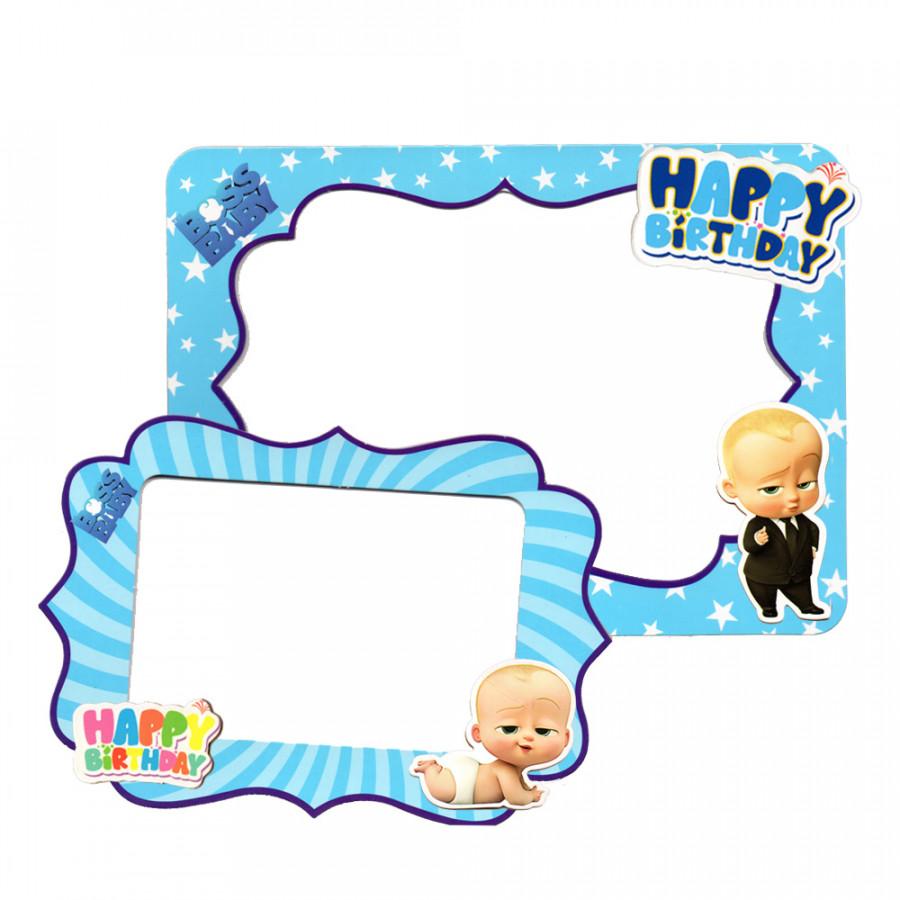 2 khung hình giấy để bàn trang trí sinh nhật - boss baby - 1312385 , 5030000598530 , 62_6431271 , 45000 , 2-khung-hinh-giay-de-ban-trang-tri-sinh-nhat-boss-baby-62_6431271 , tiki.vn , 2 khung hình giấy để bàn trang trí sinh nhật - boss baby
