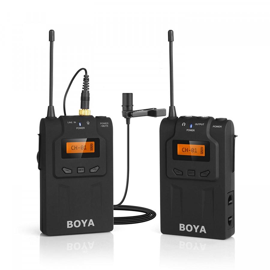 Micro Cài Áo Không Dây Cho Máy Ảnh UHF Wireless BOYA BY-WM6 AZONE - 1856924 , 2645415094992 , 62_14035588 , 4840000 , Micro-Cai-Ao-Khong-Day-Cho-May-Anh-UHF-Wireless-BOYA-BY-WM6-AZONE-62_14035588 , tiki.vn , Micro Cài Áo Không Dây Cho Máy Ảnh UHF Wireless BOYA BY-WM6 AZONE