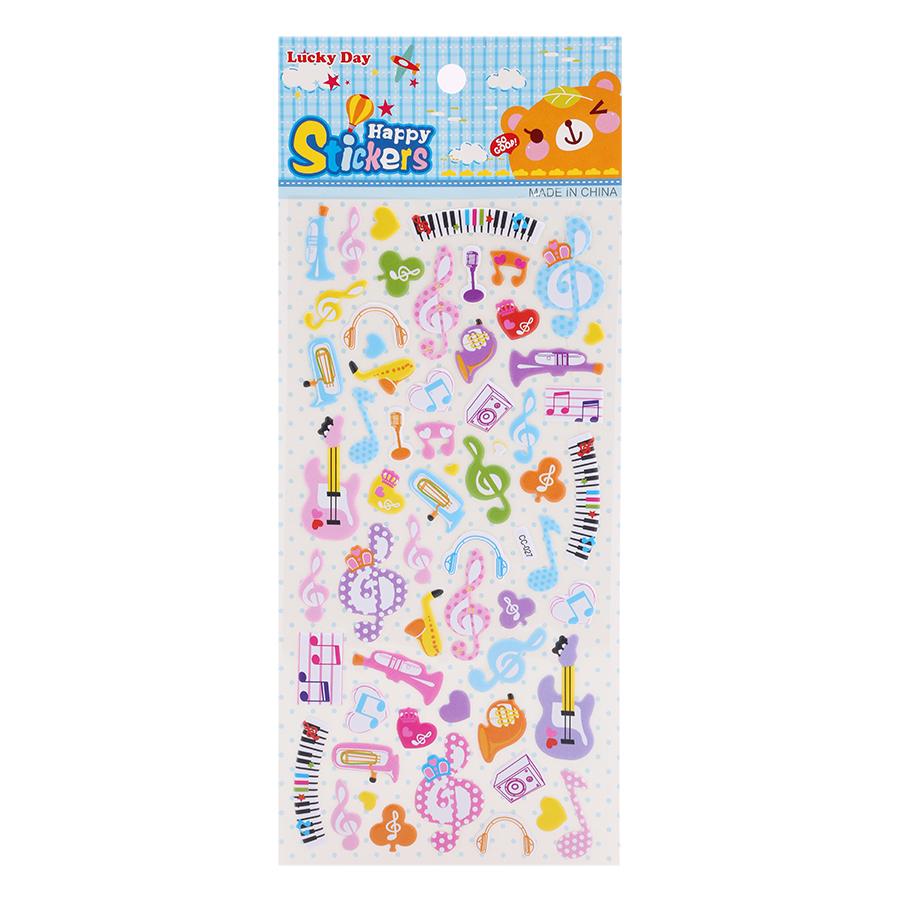 Sticker Dán Nổi Cho Bé - CC027