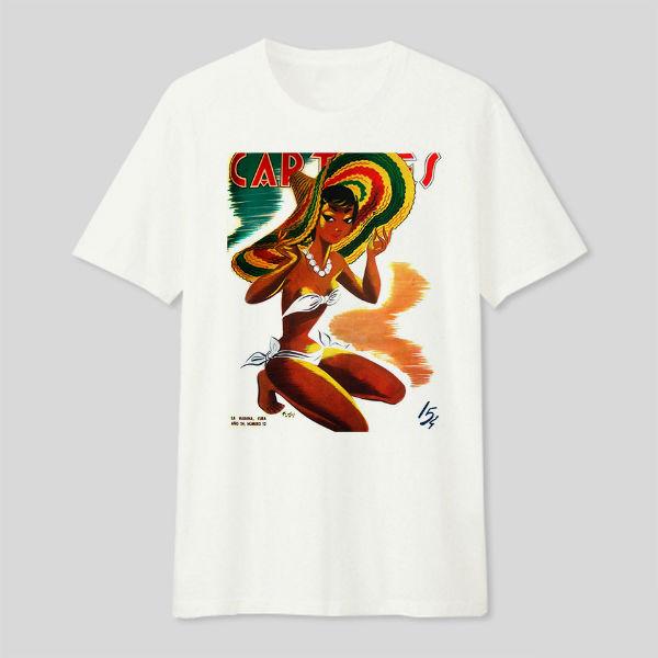 Áo T-shirt Trẻ Em Cuba Dotilo HT120 - Trắng