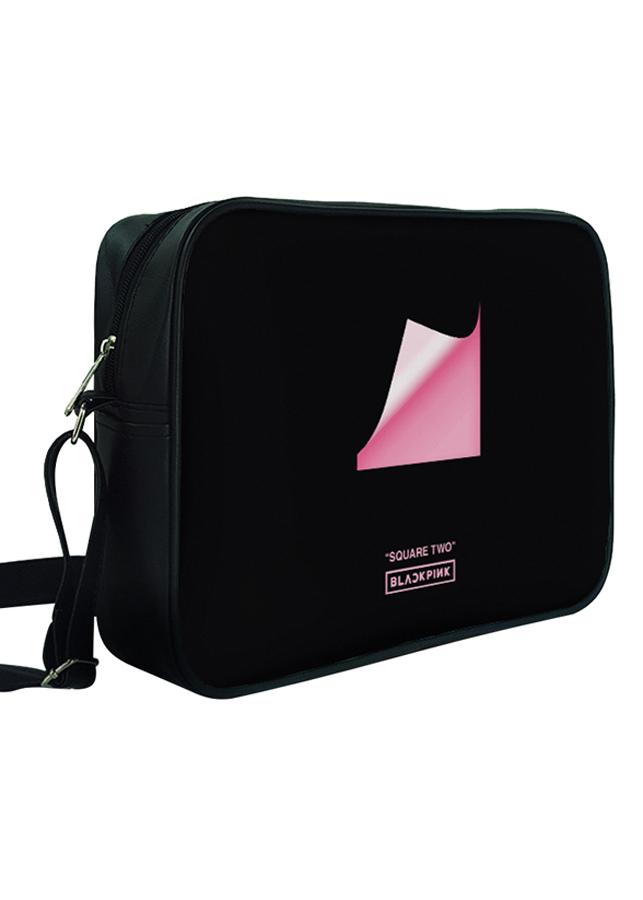 Túi Đeo Chéo Hộp Unisex In Hình Black Pink - TCKL109