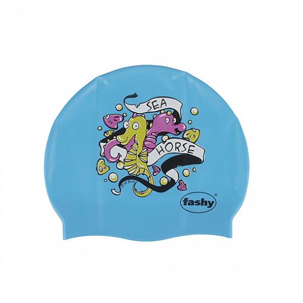 Nón bơi trẻ em Fashy sinh vật biển