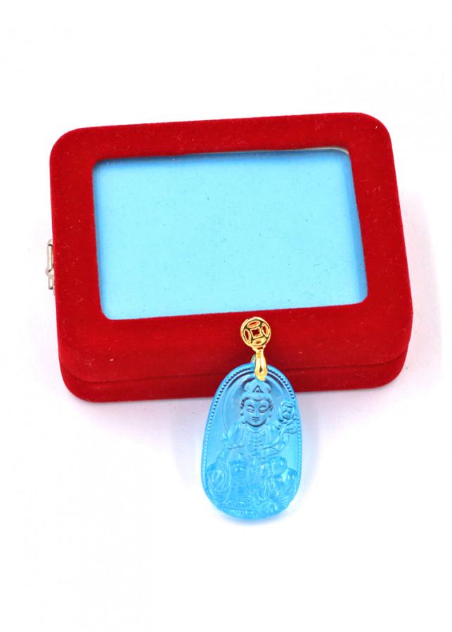 Mặt phật Phổ Hiền Bồ Tát thủy tinh xanh lam 3.6cm kèm hộp nhung - 766319 , 9763692341479 , 62_9669405 , 260000 , Mat-phat-Pho-Hien-Bo-Tat-thuy-tinh-xanh-lam-3.6cm-kem-hop-nhung-62_9669405 , tiki.vn , Mặt phật Phổ Hiền Bồ Tát thủy tinh xanh lam 3.6cm kèm hộp nhung