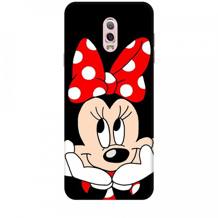 Ốp lưng dành cho điện thoại  SAMSUNG GALAXY J7 PLUS Mickey Làm Duyên