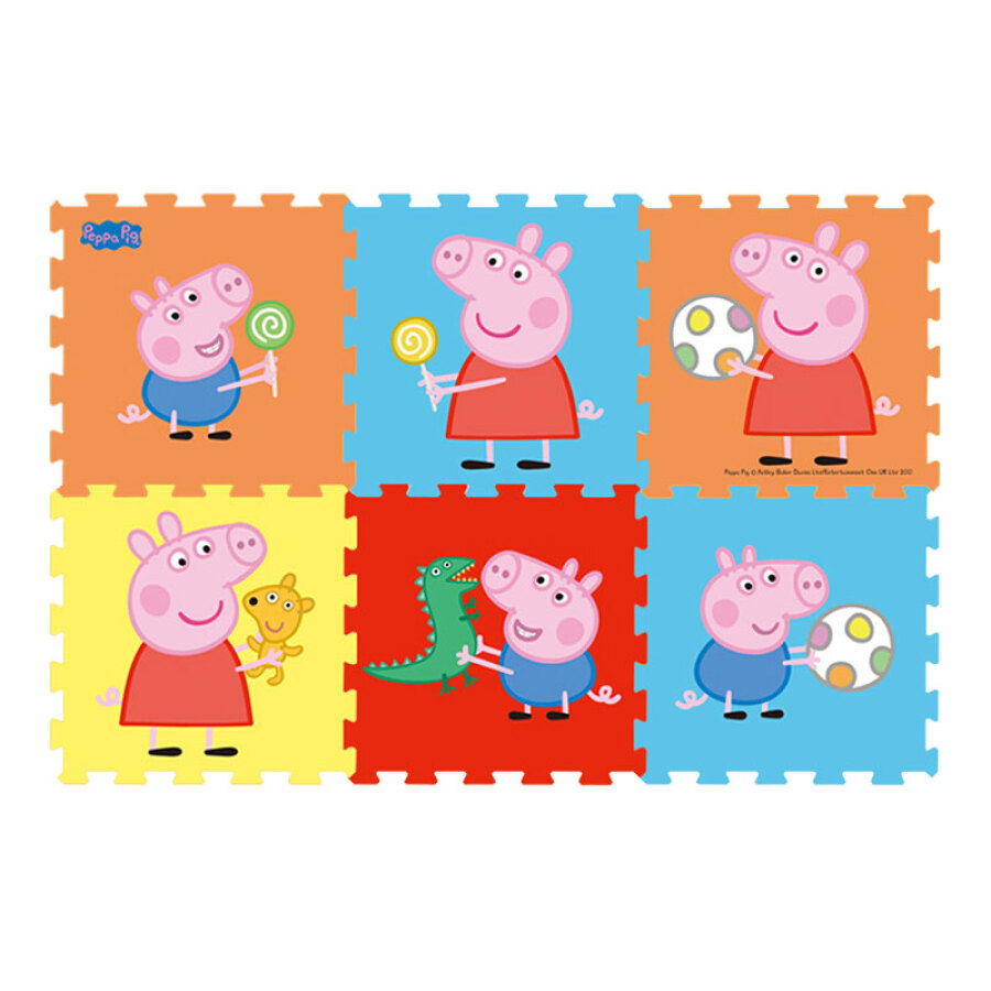 Thảm Lót Xếp Hình Chống Trượt Cho Bé Peppa Pig XPE (6 Miếng) - 1454838 , 3106767707835 , 62_9307439 , 1009000 , Tham-Lot-Xep-Hinh-Chong-Truot-Cho-Be-Peppa-Pig-XPE-6-Mieng-62_9307439 , tiki.vn , Thảm Lót Xếp Hình Chống Trượt Cho Bé Peppa Pig XPE (6 Miếng)