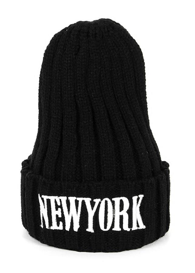 Nón len New York NL15 - Màu Đen (Free Size)