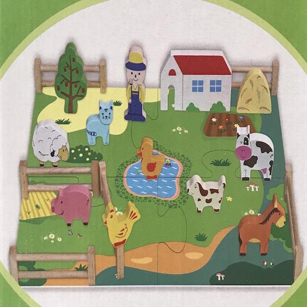 Đồ chơi gỗ Winwintoys - Trang trại của bé 62522