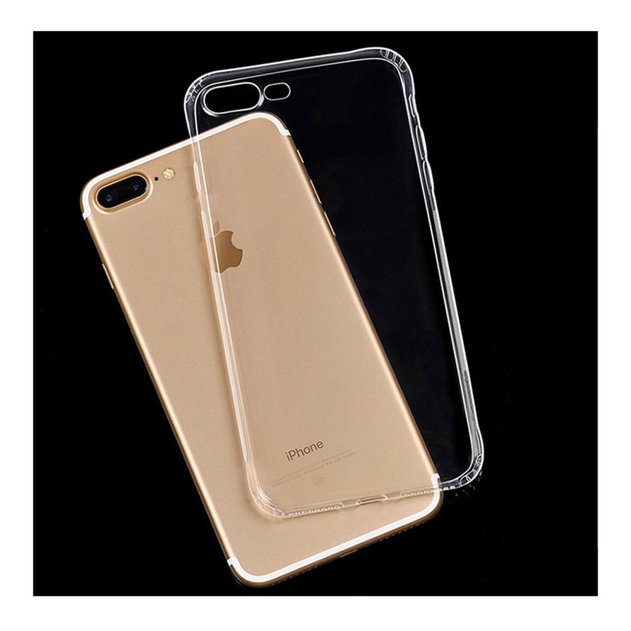 Ốp lưng dẻo trong suốt cho iPhone 7Plus / 8Plus - chống chầy xước