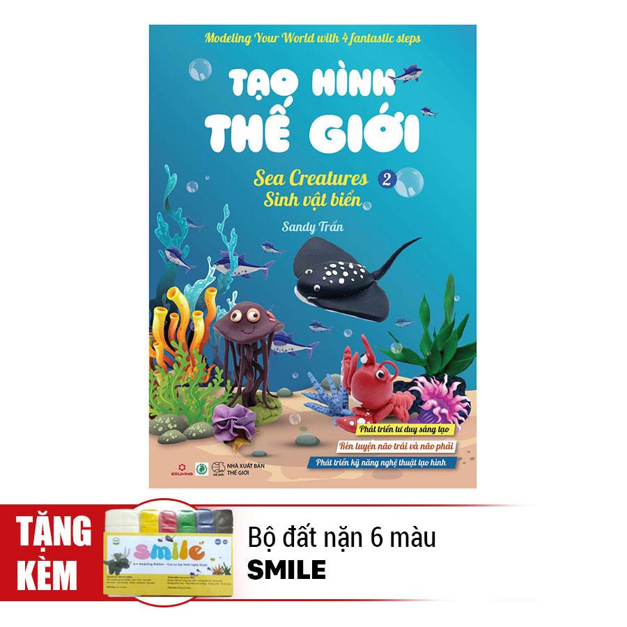 Tạo Hình Thế Giới - Sinh Vật Biển 2 (Kèm 1 Bộ Đất Nặn 6 Màu Smile) - 891385 , 5111101525738 , 62_1563955 , 48000 , Tao-Hinh-The-Gioi-Sinh-Vat-Bien-2-Kem-1-Bo-Dat-Nan-6-Mau-Smile-62_1563955 , tiki.vn , Tạo Hình Thế Giới - Sinh Vật Biển 2 (Kèm 1 Bộ Đất Nặn 6 Màu Smile)