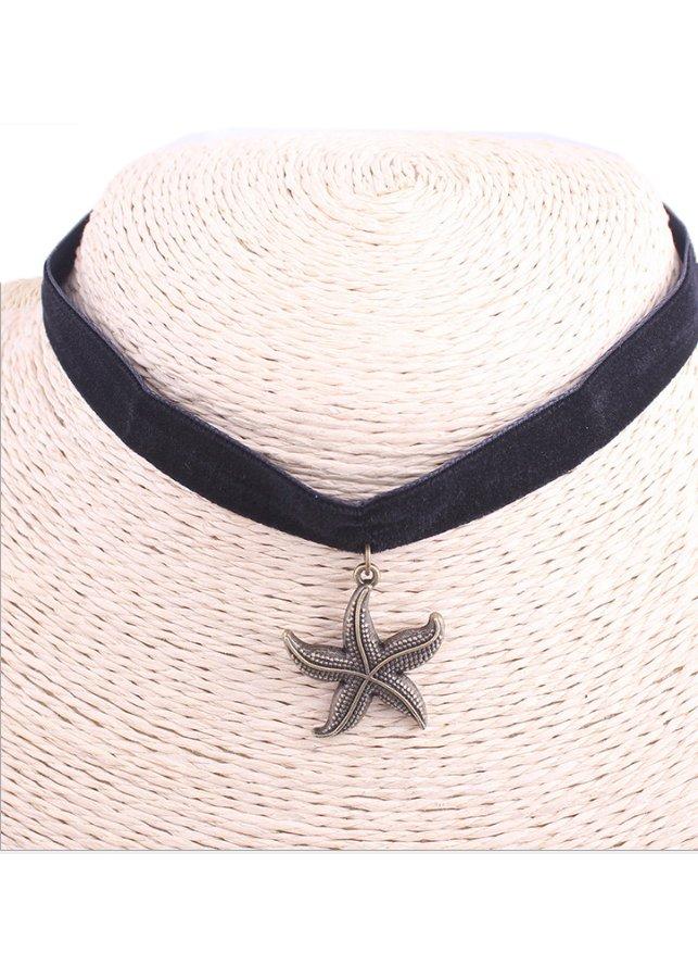 Vòng cổ choker V40 hình sao biển - 1151631 , 8951659703120 , 62_4526441 , 55000 , Vong-co-choker-V40-hinh-sao-bien-62_4526441 , tiki.vn , Vòng cổ choker V40 hình sao biển