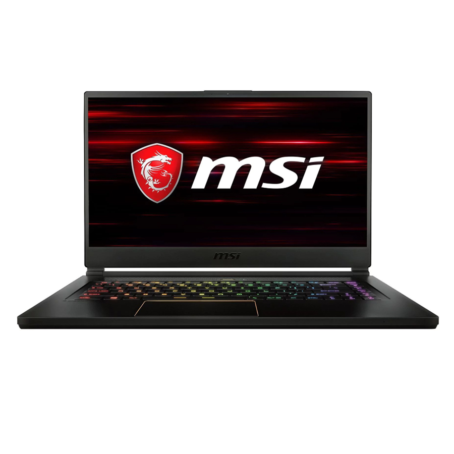 Laptop Gaming MSI GS65 8RE-242VN Stealth Thin Core i7-8750H/Win10 (15.6 inch) - Black - Hàng Chính Hãng