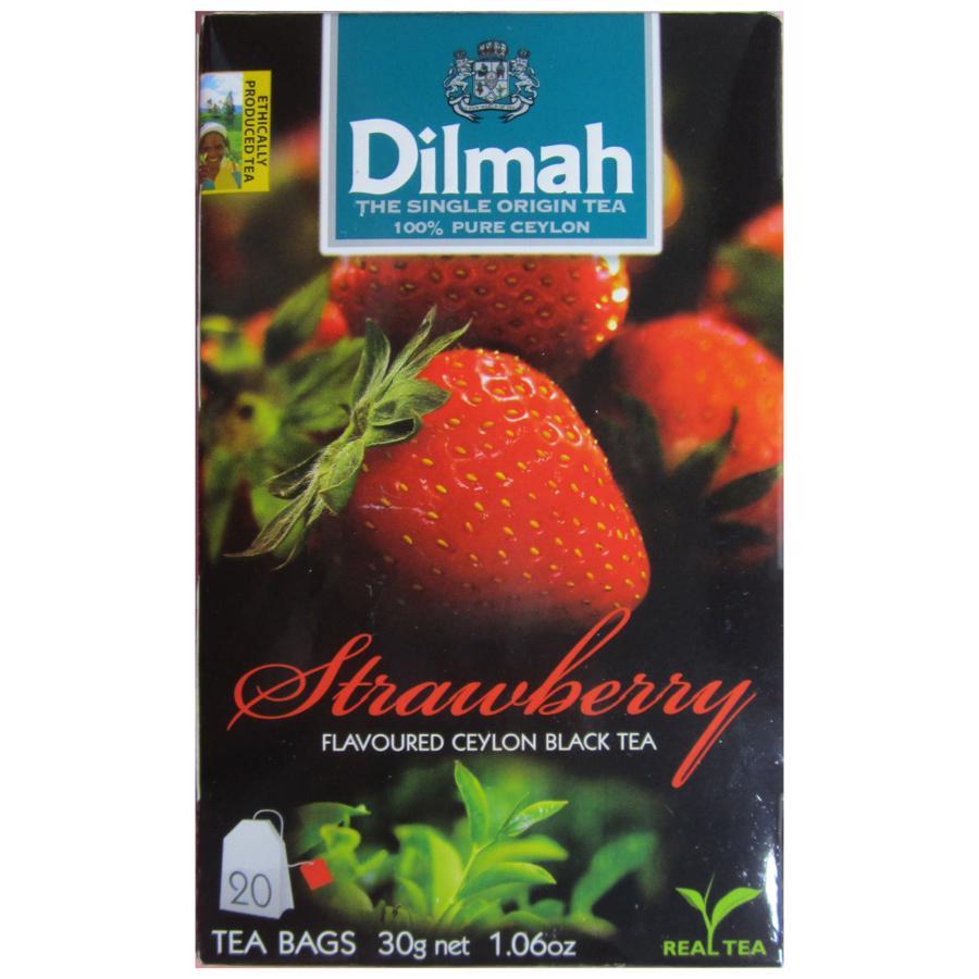 Trà Dilmah hương Dâu hộp 20 gói x 1,5 g