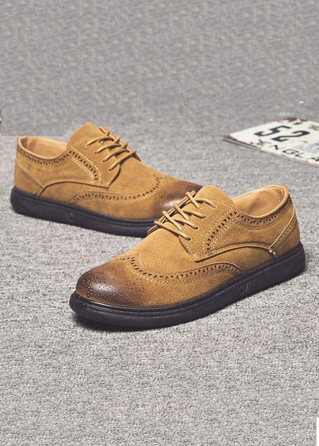 Giày lười da lộn nam cao cấp họa tiết lỗ nhỏ - 2099219 , 5340841331471 , 62_13149920 , 450000 , Giay-luoi-da-lon-nam-cao-cap-hoa-tiet-lo-nho-62_13149920 , tiki.vn , Giày lười da lộn nam cao cấp họa tiết lỗ nhỏ