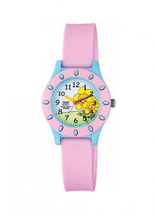 Đồng hồ trẻ em QQ Citizen VQ13J007Y dây nhựa thương hiệu Nhật Bản
