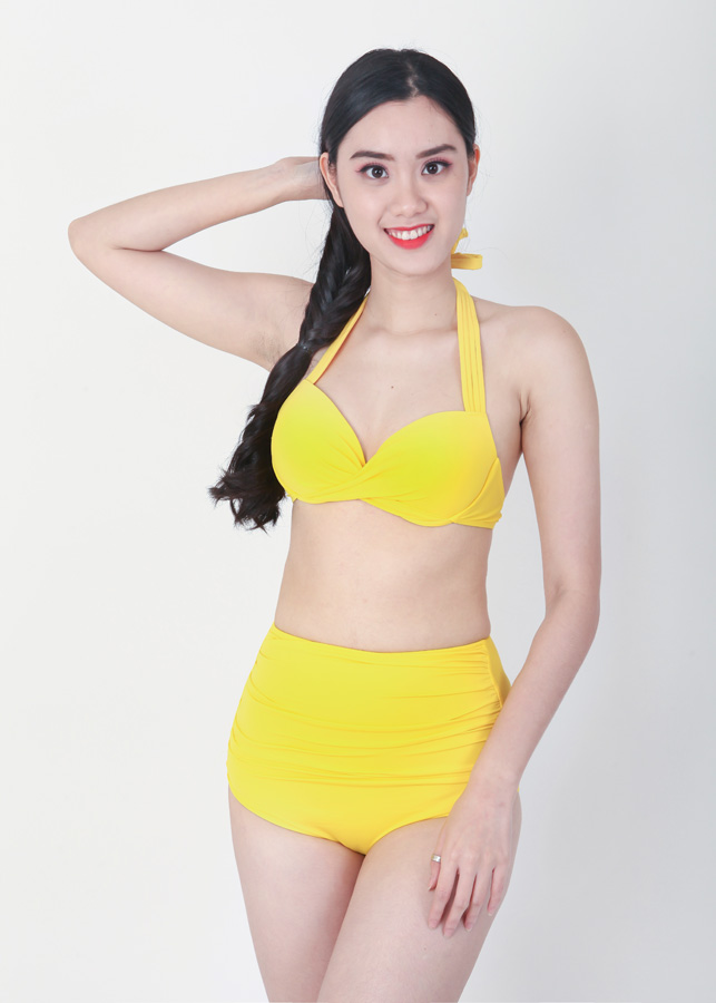 Bikini Cạp Cao Nâng Ngực EvaBKN477 (Free Size)
