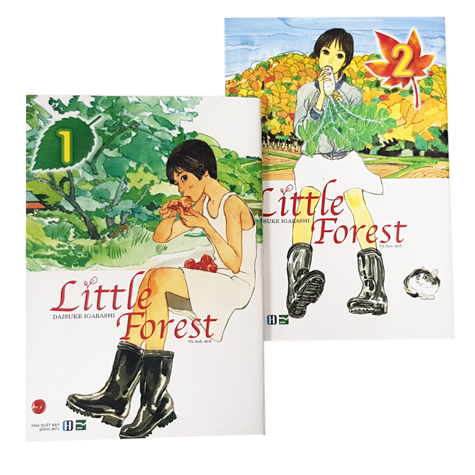 Box Set Little Forest (2 Tập)