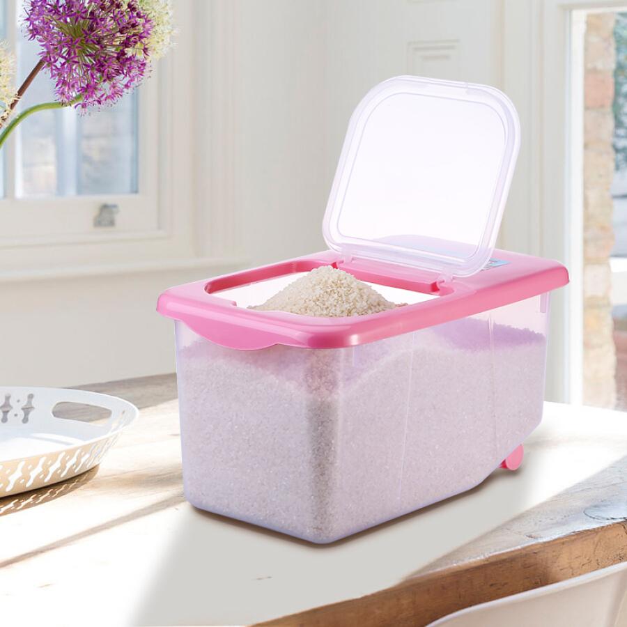 Thùng Nhựa Đựng Gạo Có Bánh Xe Arsto HX014 10kg - 942425 , 8024464525215 , 62_4851289 , 347000 , Thung-Nhua-Dung-Gao-Co-Banh-Xe-Arsto-HX014-10kg-62_4851289 , tiki.vn , Thùng Nhựa Đựng Gạo Có Bánh Xe Arsto HX014 10kg