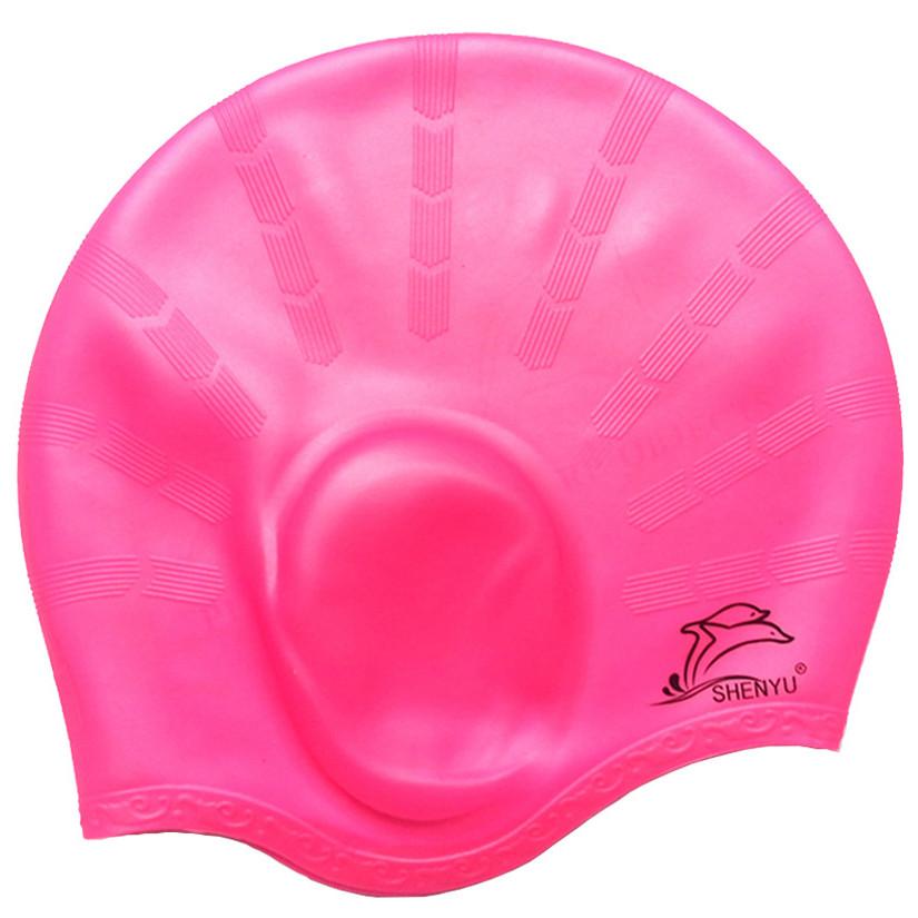 Nón bơi, mũ bơi Silicon che tai