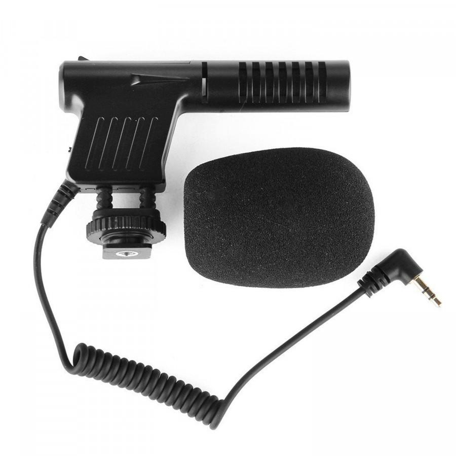 Microphone Phỏng Vấn máy ảnh Boya BY-VM01