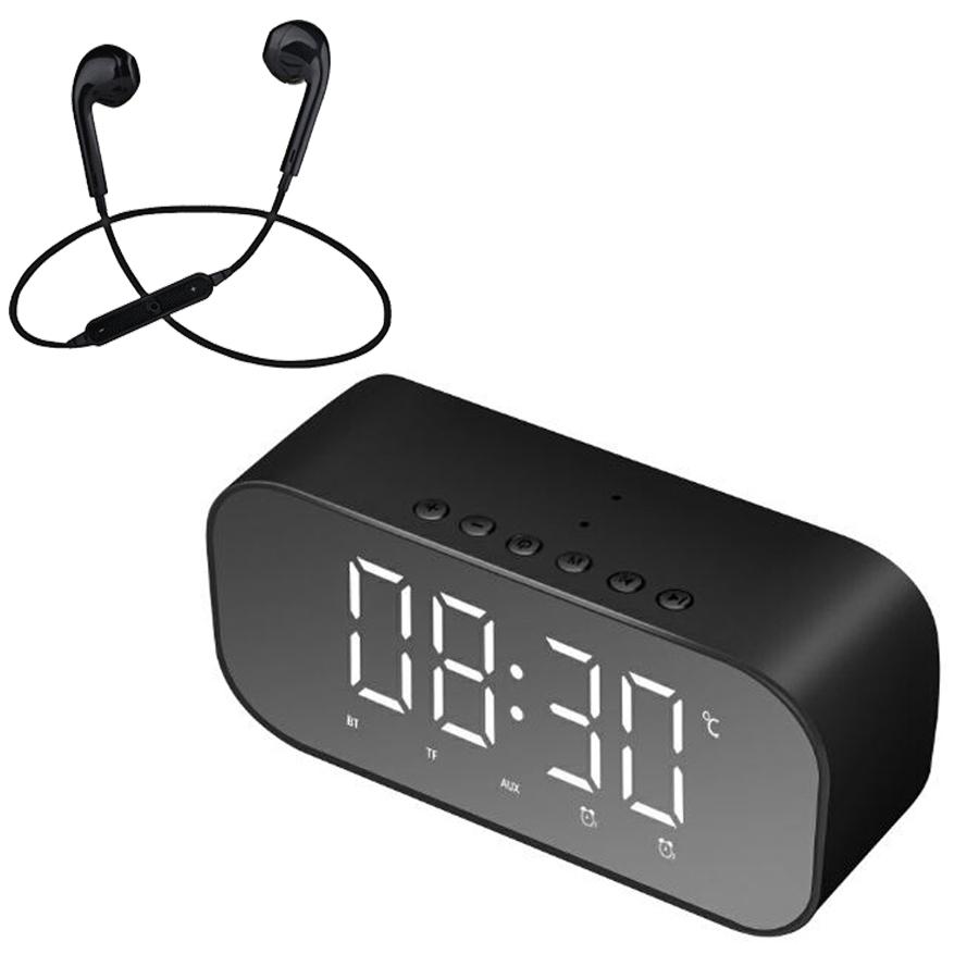 Loa Bluetooth Mini Cao Cấp S5 Hỗ Trợ USB Kiêm Đồng Hồ Báo Thức Và Gương Soi Tiện Lợi + Tặng Tai Nghe Nhét Tai - 1735983 , 5563452133696 , 62_12199248 , 700000 , Loa-Bluetooth-Mini-Cao-Cap-S5-Ho-Tro-USB-Kiem-Dong-Ho-Bao-Thuc-Va-Guong-Soi-Tien-Loi-Tang-Tai-Nghe-Nhet-Tai-62_12199248 , tiki.vn , Loa Bluetooth Mini Cao Cấp S5 Hỗ Trợ USB Kiêm Đồng Hồ Báo Thức Và Gươ